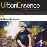 Nordic Trax Radio #97 - Jon Delerious - Forage EP Promo Mix for Urban Essence UK
