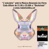 14 maig 18 L'Anècdota LMALF a Backstage de Ràdio Manlleu: Santana