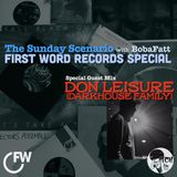 BobaFatt - The Sunday Scenario 141: FIRST WORD RECORDS | Don Leisure Guest Mix