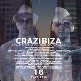 Crazibiza Radioshow - 16 (01-20-2018) [Live @ The End Up, San Francisco]