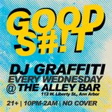 DJ Graffiti - Live Rock Mix at the Alley Bar (3-2-2011)