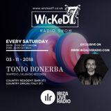 TONIO BONERBA - WICKED 7 RADIO SHOW - IBIZA LIVE RADIO 3 - 11 - 2018