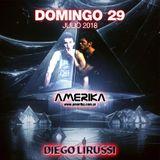 Domingo 29 de Julio - Sundays Dance Amerika - DJ Diego Lirussi