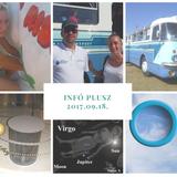 INFÓ PLUSZ 2017.09.18. Repülőnapi érdekességek, régi buszok, tehénfejés