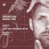 DCR413 - Drumcode Radio Live - Carl Cox B2B Adam Beyer live from Junction 2, London