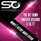 The Get Down Sinister Sessions set  Women's History Month Edition 3.16.17