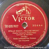 Hulda Lashanska y Paul Reimers: Stille Nacht, Heilige nacht - Der Tannenbaum. RCA Víctor. Chile.