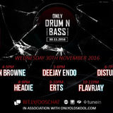 FLavRjay on OOS Radio, Only Drum n Bass 30-11-16
