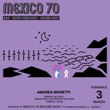 SFHS #3 [SpaceForHumanSpirit] podcast / Andrea Moretti [powered by Mexico 70 Record Shop]