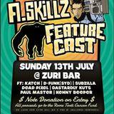A.Skillz & Featurecast Support Set Live Zuri Bar Brisbane