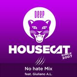 Deep House Cat Show - No hate Mix - feat. Giuliano A.L.