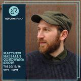 Matthew Halsall's Gondwana Show 20th December 2016