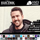 Electrik Playground 3/11/18 inc. DJ Licious Guest Mix