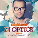 warm up for DJ Optick // live @ Epic Society 30 may 2014