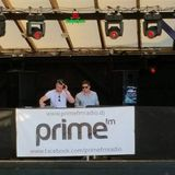 Martin Prestige and Roland Cortante live PrimeFm Open Air Track Terrace 2014 07 12
