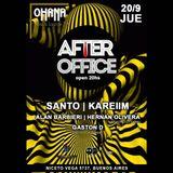 """Pres. DJ Live Set """"AFTER OFFICE"""" @ (Ohana) Bar & Lounge X ElektronaRadio.com [20.09.2018]"""