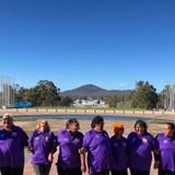 Alice Springs women march towards Parliament to pay tribute to Indigenous women killed by family vio