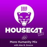 Deep House Cat Show - More Humanity Mix - with Alex B. Groove