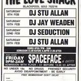 Space Face @ Loveshack, Blackpool - 1991