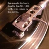 Een avondje Cartouch - Kareltje Top 50 - 1986 in the mix - mixed by Groove Inc.