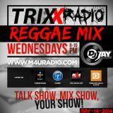 REGGAE MIX ON TRIXX RADIO (2014)