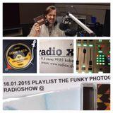 The Funky Photographer Radioshow - 16.01.2015 on Radio X