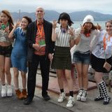 Dennis The Menace Conversation with Japanese Girl Group Little Glee Monster at J-Pop!