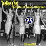 TeeBee's Set at the Temple of Soul Alldayer 11th March 2017.