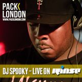 DJ Spooky [Old Skool Garage Vinyl Set] ft. Hype Man Sage Live on Rinse FM @ Pack London - 19.04.13