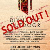 DJ Phono - live at Diynamic Outdoor, Park Del Forum, Sonar 2015, Barcelona - 20-Jun-2015