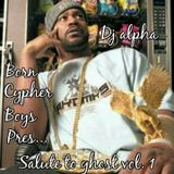 Salute to Ghostface