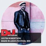 EXCLUSIVE MIX: Justin Robertson Made In Leeds Festival Mix