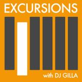 Excursions Radio Show #23 with DJ Gilla - August 2013