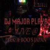 DJ Major Playa Live @ Peek-A-Boo's Japan