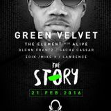 Lwr-Nc @The Story Present Green Velvet + Alive 21-2-2016