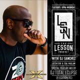 DJ Total Eclipse The Lesson on Fresh 92.7 with DJ Sanchez mix 18.09.18
