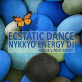 Ecstatic Dance Utrecht February 2018 - Nykkyo Energy DJ