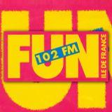 [xx.xx.1989] FUN RADIO 102 FM ( DIEGO et première émission FUN MASTERMIX )