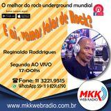 Programa E ai Vamos Falar de Rock 15.07.2019 Reginaldo Roddrigues