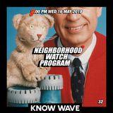 Neighborhood Watch Program - May 16th, 2018