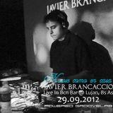 29.09.2012 - Javier Brancaccio @ House como en casa - Live in Barcelona Bar @ Lujan Bs As