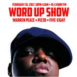 Word Up Show - Feb 10, 2017 - TRACKS ONLY