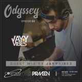 ODYSSEY #03 guest mix by Jayy Vibes ( Sri Lanka ) on Cosmos Radio - Germany (20 SEP 2018)
