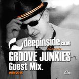 GROOVE JUNKIES is on DEEPINSIDE #02