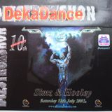 Dj Simz & M.c Space @ Dizstruxshon Decadance 10th annivesery @ The Dome 13th July 2002