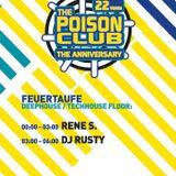 Rusty @ 22 Jahre Poison Club im Butan - Freitag, 26.August 2016