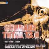 Schranz Total 13.0 CD2 mixed by Arkus P (2005)