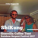 ShiKung - Reggae Set at Guerrilla Coffee Stage - Rainbow Serpent Festival 2017