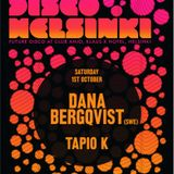 Dana Bergquist - Live @ Future Disco, Ahjo Club, Helsinki (01-10-2011)