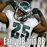 Ep 71 - Fantasy Football Early QB and RB Rankings